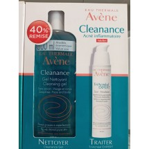 AVENE Coffret Anti-imperfections(-40%gel nettoyant cleannace) + TriAcnéal EXPERT